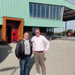 Werner Tenkamp (Bibo-Natur) und Sebastian Paus (Havens)